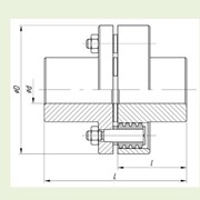 Муфта упругая втулочно-пальцевая МУВП-5 фото