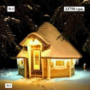 № 3 Зимний домик 3 м. диагональ (6 м.2) фото