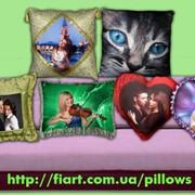 Декоративные подушки с фото фото