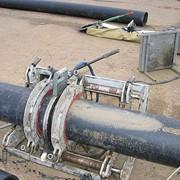 Монтаж водопровода/канализации из полиэтиленовых труб фото