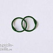 Кольца для альбомов, зеленые 20 мм фото