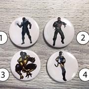 Значки Мортал Комбат, Mortal Kombat №1 фото