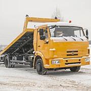 Автоэвакуатор КАМАЗ 4308 со сдвижной платформой, 4х2 фото