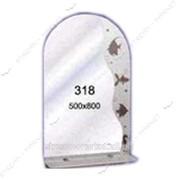 Зеркало пескоструйка (500*800 1 полка) (318) №135548 фото
