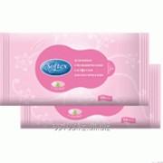 Влажные softex салфетки интимные 10шт/96 фото