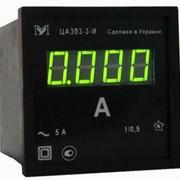 Амперметр ЦА0303-3-С 50/5А цифровой АС фото