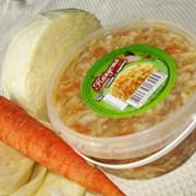 Капуста соленая с морковью 400 гр., от производителя оптом, Украина, купить.