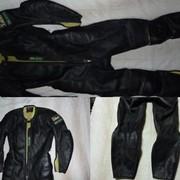 Куртка дубленная с брюками (комбинезон) фото