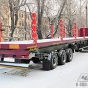 Перевозка длиномерных грузов(арматура, сваи, опоры освещения....) фото