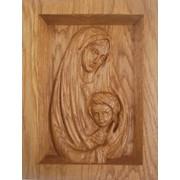 "Икона ""Богородица с Иисусом дитятем"" фото"