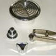 Изделия из пластмассы марки ABC, покрытые гальваническим способом (медь, никель, хром). обладают повышенной износостойкостью и имеют привлекательный внешний вид. фото