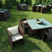 Комплект мебели из искусственного ротанга К49 фото