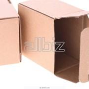 Упаковочные картонные коробки фото