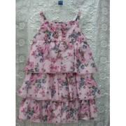 Платье хлопковое розовое Papermoon, Италия фото