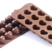 """Силиконовая форма для конфет """"Ракушки фото"""