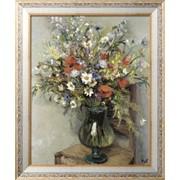 Картина Цветы в стеклянной вазе, 1960, Диф, Марсель фото
