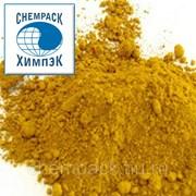 Пигмент желтый железоокисный G313, окись железа, оксид железа. Мешок фото