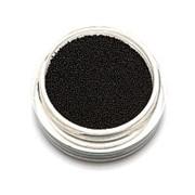 TNL, Бульонки супермелкие, черные, 0,2 мм фото