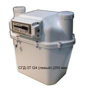 Счетчик газа диафрагменный с термокомпенсатором СГД-3Т G4 (левый) (250 мм) фото