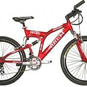 Велосипед Gravity Двухподвес: MIRAGE Красный фото