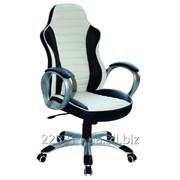 Компьютерное кресло Q-112 Signal бело-черный фото