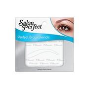 SalonPerfect Шаблоны для бровей SalonPerfect - Brow Perfection Stencils 52905 1 уп. фото