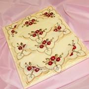 Скатерть с вышивкой 1715 фото