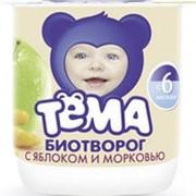 Творог ТЁМА Груша 4,2%, 100г фото