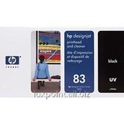 Картридж HP 83 C4960A UV Printhead and Printhead Cleaner for DesignJet 5000 series, Black фото