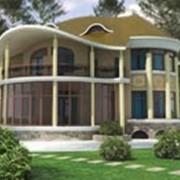 Строительство загородных домов, коттеджей фото