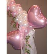 Оформление воздушными шарами свадьбы, Дня рождения, юбилея фото