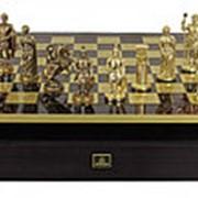 """Шахматы """"Античные войны"""" 44x44x3.0;H=6.5 см. арт.MP-S-10-C-44-R фото"""