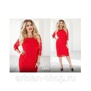 Гипюровое платье 2845 фото