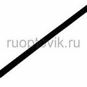 4. 0 / 2. 0 мм 1м термоусадка черная REXANT фото