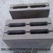 Блок керамзито-бетонный стеновой М-50,М-75,М-100 фото