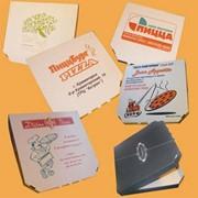 Короба для пиццы из гофрокартона фото