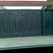 Изготовление ворот и дверей фото