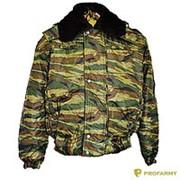 Куртка зимняя оксфорд зеленый камыш фото