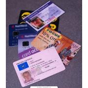 Пластиковые карточки, дисконтные карточки, карты доступа, фото