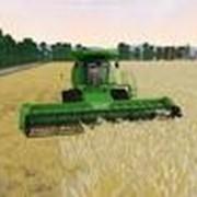 Уборка урожая зерновыми комбайнами CLAAS фото