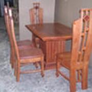 Мебель деревянная (столы, кровати, табуреты) фото