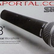Shure SM58 шнуровой микрофон динамический вокальный фото