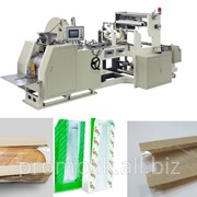 Оборудование для производства бумажных пакетов саше с прозрачным окошком фото