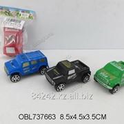 Автотранспортная игрушка Джип инерционный 8см , пак. JS898-55 фото