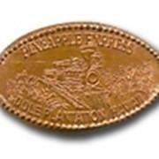 Сувенирный жетон Press-a-penny 1 фото