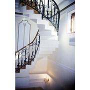 Лестницы монолитные,железобетонные изготовление фото