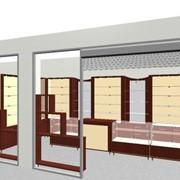 Дизайн-проект торгового оборудования в 3D фото