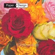 Салфетки Декоративные столовые Paper & Design Симфония роз 3-х слойные 33х33см, 20шт фото