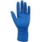 Перчатки хозяйственные латексные универсальные Gloves XL синие 1 пара фото