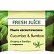Косметическое мыло Fresh Juice Огурец и бамбук 75 г фото